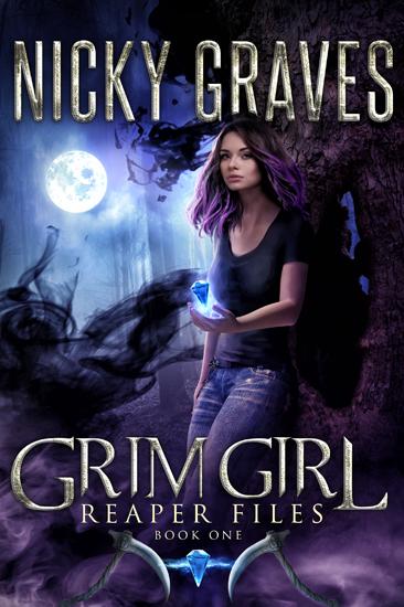 Dark Urban Fantasy Grim Girl