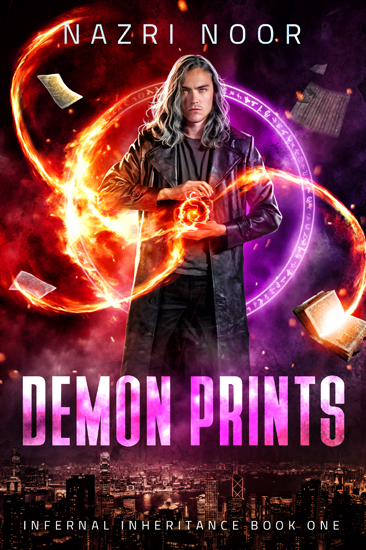 Urban Fantasy Demon Prints